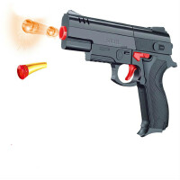 YJD101水晶珠弹枪手动玩具枪 进化者软弹吸盘弹风暴