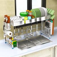 304不锈钢碗碟架沥水架厨房置物架水池碗筷滤水碗碟架水槽架