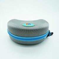滑雪眼镜盒 防水耐压运动镜盒简约易携带滑雪镜盒篮球大号眼镜盒拉链式
