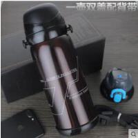 不锈钢真空保温杯水杯户外自驾车载运动水瓶礼品大容量保温壶