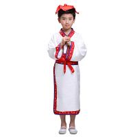 女童古装儿童汉服男夏表演出服书童古风小幼儿三字经弟子国学服装