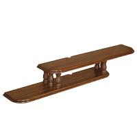 创意小户型简约悬挂式实木机顶盒置物架电视墙壁挂架挂墙上电视柜