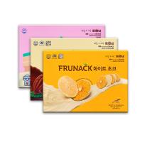 韩国进口济州岛福禄奈FRUNACK巧克力柑橘片网红女生健康零食12片装