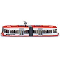 模型合金车男孩公交车巴士玩具车模有轨电车1895儿童仿真