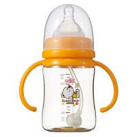 【当当自营】日康 宽口有柄PPSU自动奶瓶180ML RK-3167(新老包装替换中)