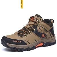 CUM冬季高帮登山鞋保暖 运动户外休闲鞋情侣鞋 溯溪鞋徒步鞋 爬山鞋攀岩鞋