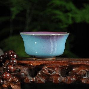 钧瓷器 礼品 国大师 孔相卿 孔家钧窑  精品茶碗 4.5*9cm  HX163280