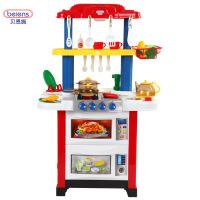 一号玩具 贝恩施 做饭过家家厨房玩具宝宝过家家厨具餐具套装
