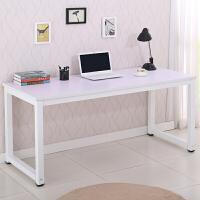 简易电脑桌简约书桌子双人写字桌办公培训桌台式家用桌可订制
