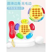 婴儿早教小孩益智婴幼儿童玩具电话机音乐手机宝宝0-1-3岁12个月