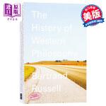 【中商原版】西方哲学史 英文原版 History of Western Philosophy Russell 诺贝尔文学奖罗素著 西方哲学发展史 哲学知识读物 世界经典著作