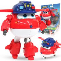 奥迪双钻超级飞侠玩具大号变形机器人全套装小飞侠玩具 海外版乐迪大变形机器人B款