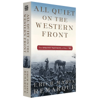 All Quiet on the Western Front 西线无战事 英文版原版小说 经典历史小说 英文原版 雷马克