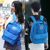双肩包女日韩版初高中学生书包女时尚潮流男士背包学院风旅行背包
