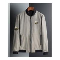 2018春秋季新款男士外套韩版修身休闲棒球服立领夹克衫大蜜蜂衣服