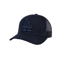 MLB 美职棒 棒球帽子男NY韩版潮纯色情侣帽鸭舌帽弯檐防晒帽遮阳帽子