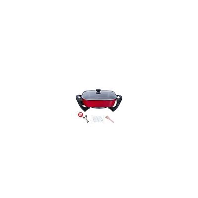 韩式多功能电热锅家用电炒锅电火锅小电锅宿舍学生蒸煮炒菜一体锅 发货周期:一般在付款后2-90天左右发货,具体发货时间请以与客服协商的时间为准