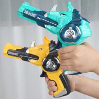 �和�手��玩具恐���w碟小�幼������B�l射子��的男孩��3-4-5-6�q