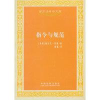 指令与规范――西方法哲学文库