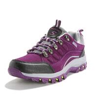秋冬款户外登山鞋女防水防滑徒步鞋加绒保暖旅游鞋越野跑鞋爬山鞋