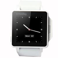 德国simvalley超薄电容屏智能手表腕表手机可遥控拍照当蓝牙使用