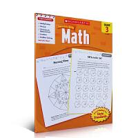 现货正版 Scholastic Success with Math 3 美国小学三年级数学练习册 英文版原版 进口英文