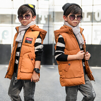 男童马甲外套冬装洋气五6六7七8八9九10十岁男孩背心