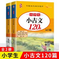 小学生小古文120篇(套装上下2册)黄冈一线名师编写 有声伴读 扫码即听.