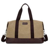 户外时尚帆布大包 男包单肩手提旅行包袋 行李包 三用大容量