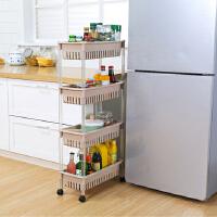 厨房置物架 夹缝杂物收纳整理架日式多层大号组装浴室收纳