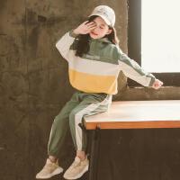 女童套装春秋夏季2020年新款春季纯棉霸气潮五岁春装