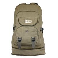 超大容量户外旅行包帆布包双肩背包男女包加大行李背囊电脑包 特大号