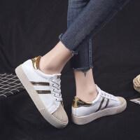 韩版时尚系带深口平底圆头PU新款女鞋橡胶低跟单鞋