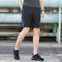 休闲短裤男夏天马裤子4宽松5分运动沙滩裤潮男士五分裤夏季大裤衩 3X