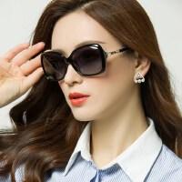 网红近视眼镜方脸墨镜女潮 新款偏光太阳镜圆脸可配近视眼镜女士户外遮阳镜