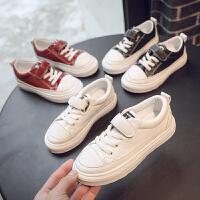 儿童潮鞋男童板鞋女童单鞋小白鞋运动鞋新款学生休闲鞋