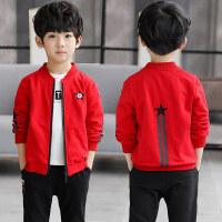 中大童秋冬季夹克衫韩版帅气童装上衣潮儿童男童洋气外套