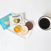韩国原装进口济州岛福禄奈FRUNACK巧克力柑橘片即食零食果干5片装