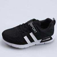 女童运动鞋儿童跑步春鞋男童鞋子春秋网面透气