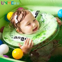 UNME 婴儿童充气游泳圈 脖圈 浮圈 救生圈 亲亲宝贝