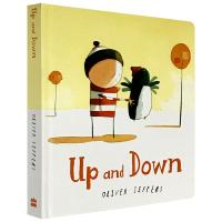 Up and Down 我的朋友想要飞 英文原版纸板书 上上下下 Oliver Jeffers奥利弗杰弗斯 摘星星的孩子