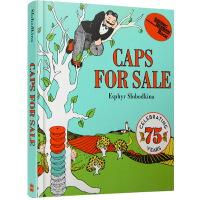 英文原版绘本 Caps for Sale 卖帽子 纸板书 吴敏兰绘本123