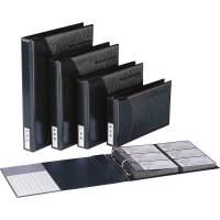 齐心A161*系列 大容量易分类 商务名片夹 名片薄 名片夹 名片盒 黑色名片册