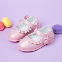 女童皮鞋 儿童黑色公主鞋宝宝时尚单鞋