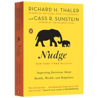 Richard H.Thaler Nudge 英文原版 助推 诺贝尔经济学奖获奖作品 理查德泰勒如何做出有关健康 财富与
