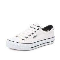 帆布鞋女 学生韩版百搭平底ulzzang情侣鞋子 春季经典小白鞋