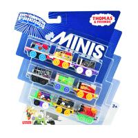 托马斯迷你合金小火车头收纳盒套装儿童男孩口袋玩具