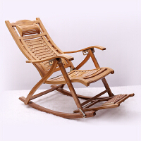 楠竹躺椅折叠椅子加固竹摇椅竹子逍遥椅阳台午休凉椅沙滩椅