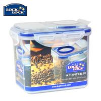 乐扣乐扣保鲜盒塑料储物盒 HPL812F 1L微波餐盒饭盒便携大便当盒