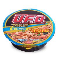 NISSIN日清UFO虾仁炒面风味飞碟炒面116g 碗装速食酱香拌面早餐拌面